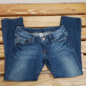 """❤LUCKY BRAND """"ANTI LOLA ANKLE CROP"""" JEANS, 0/25"""